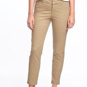 Old Navy Khaki Pixie Pants (NWOT)